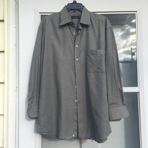 CANALI Made In Italy Long Sleeve Button Down Shirt